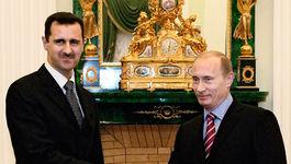 Асад посетил Россию