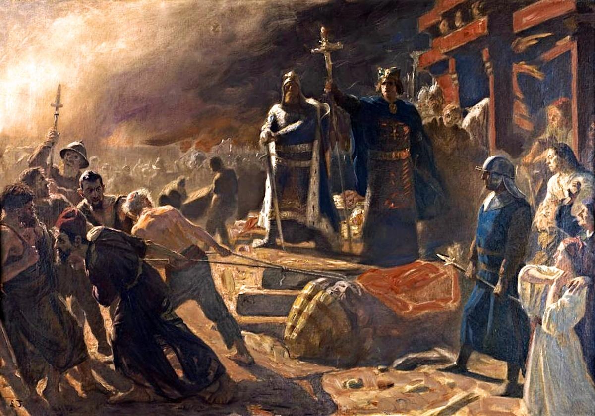 Как Александр Македонский веды уничтожил