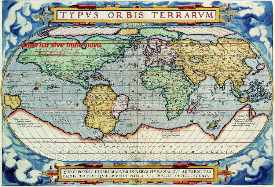 Северная Америка до 15 века являлась частью Индии, потому и жители её назывались индейцами