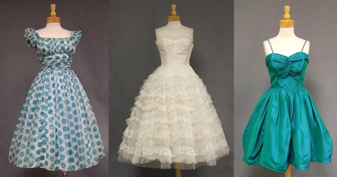 Платья на выпускной в стиле «винтаж»