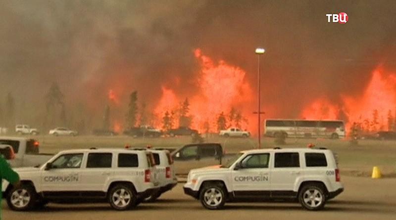 Канада сгорает в огне пожаров