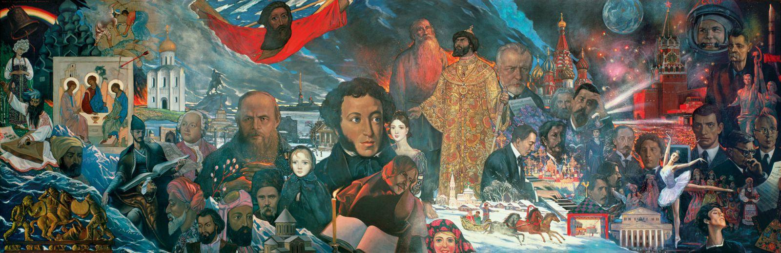Этнос-цивилизация. О гражданском и этническом русском национализме