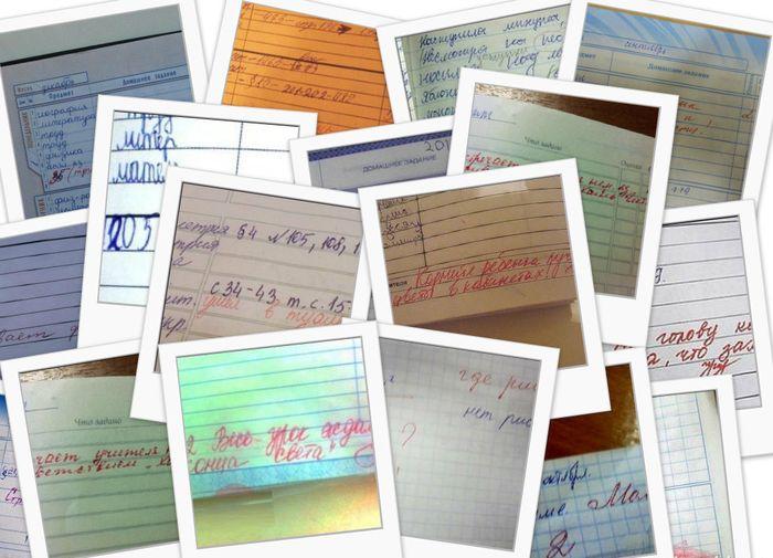 30 смешных записей в школьных дневниках, которые рассмешили даже родителей