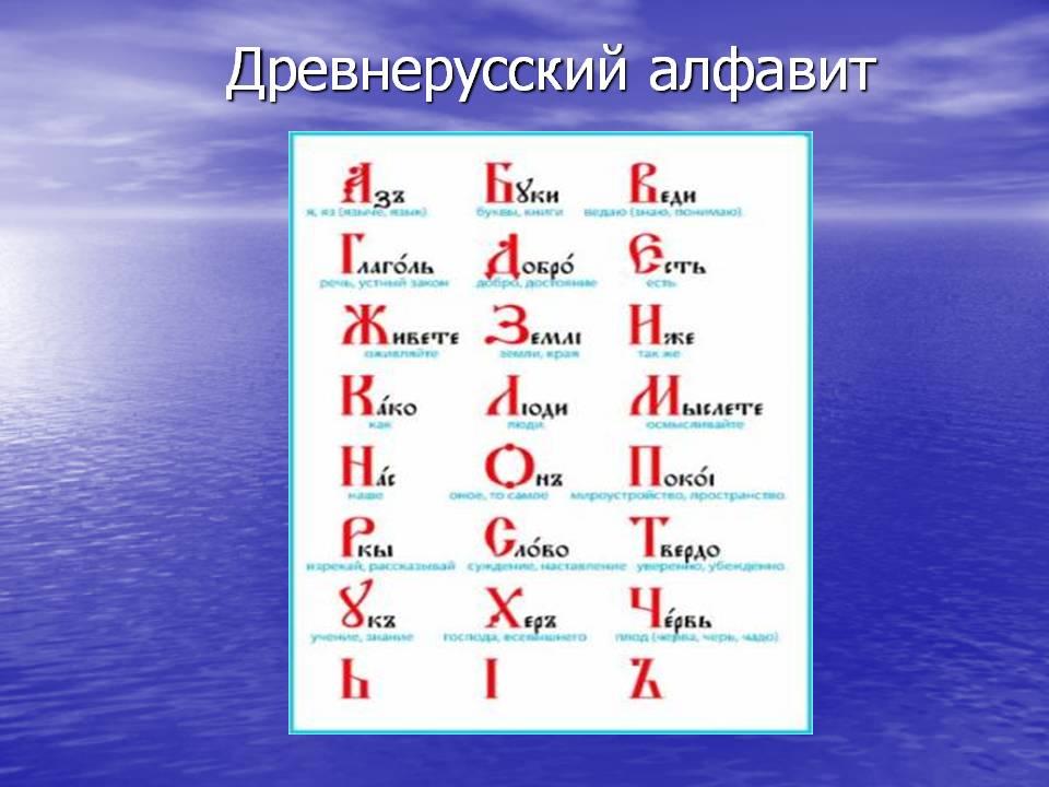 Древнерусская матрица