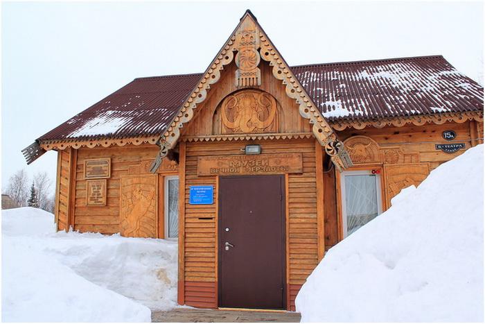 Игарка. Музей вечной мерзлоты