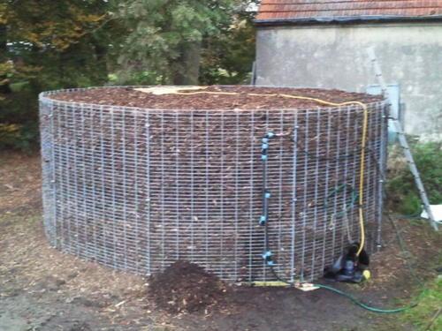 Biomeiler: отопление компостом — о недорогом способе нагреть воду и отопить дом