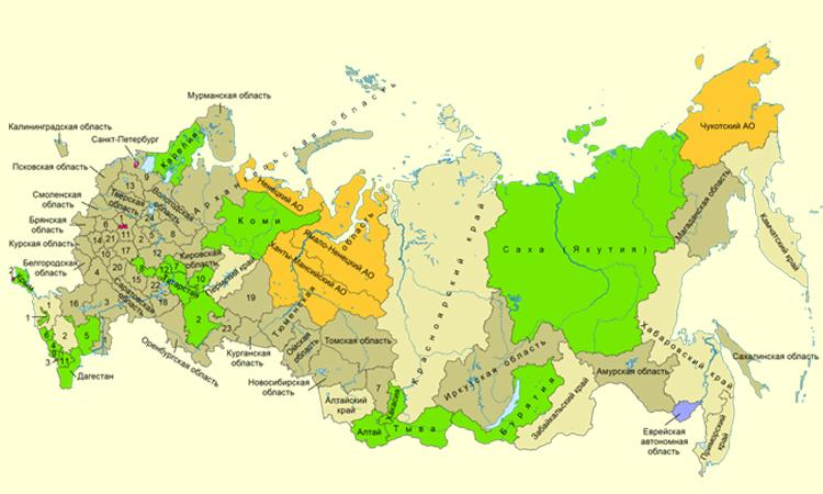В России разработан проект Стратегии пространственного развития РФ