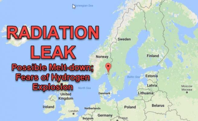 Аварийная радиационная ситуация в Хальдене, Норвегия