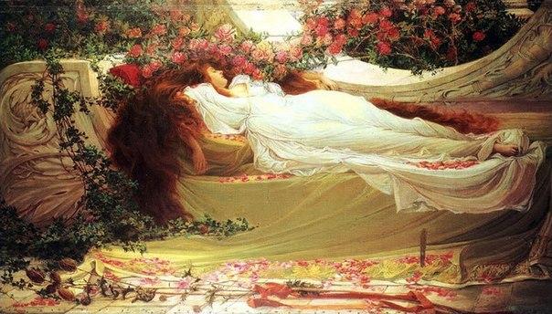 Тисульская принцесса - спящая красавица.