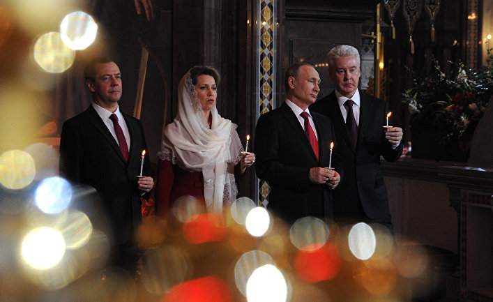 Путин и православие