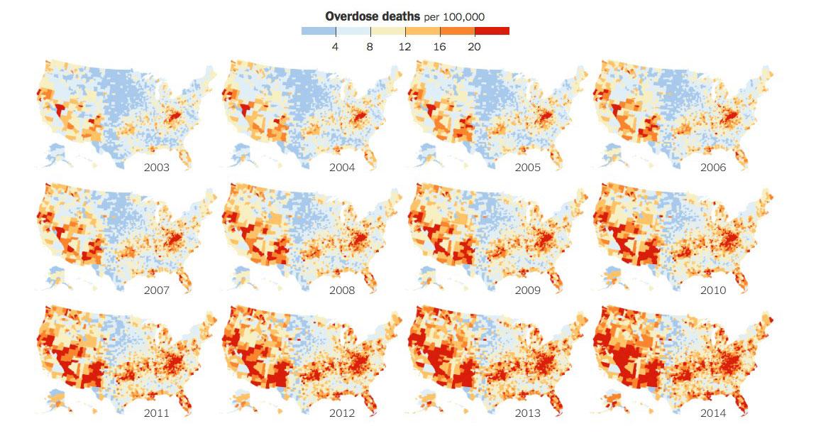 США: Эпидемия передозов повлекла резкий рост расходов на детские дома и морги