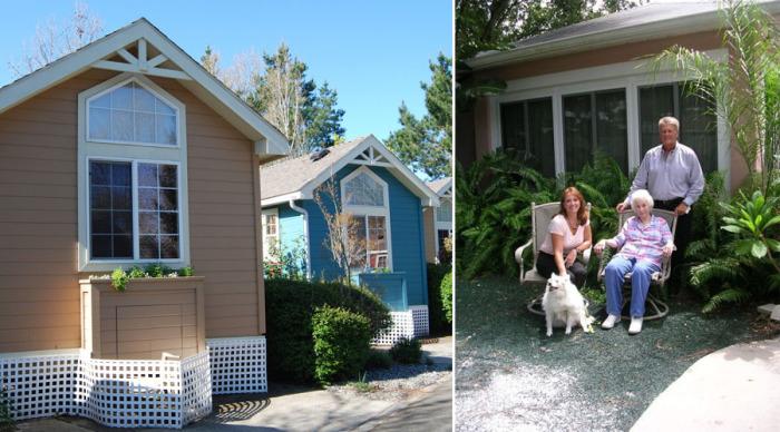 Независимость и комфорт: Дома для пожилых родственников, которые можно построить прямо на заднем дворе
