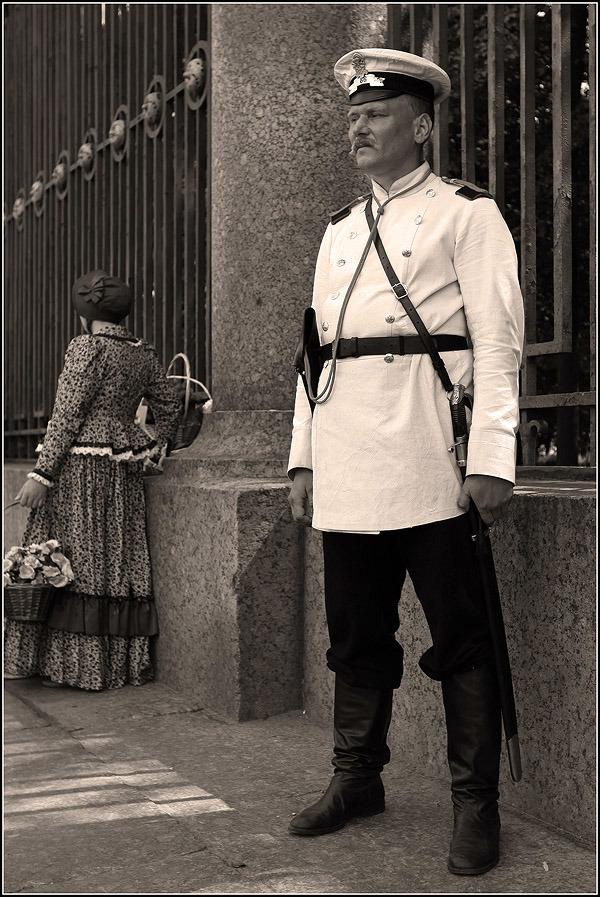 Московские городовые.Совресенным полицейским на заметку! «Прекращать всякий шум, крик, брань…»