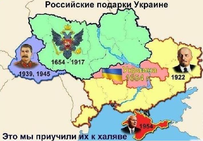 Тезисы Путина по Украине, или Великая Украина от Чернигова до Житомира