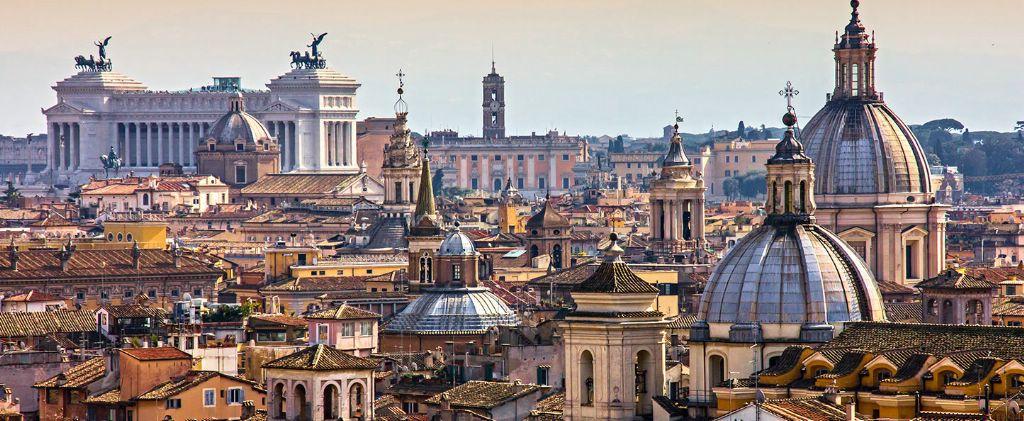 Рим -маленький маленький город