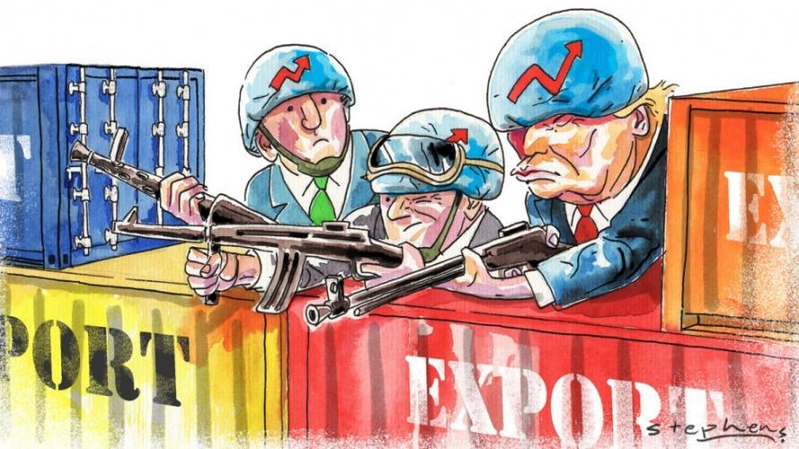 """Торговая Война: На 26 марта Китай анонсировал """"убийство"""" нефтедоллара"""