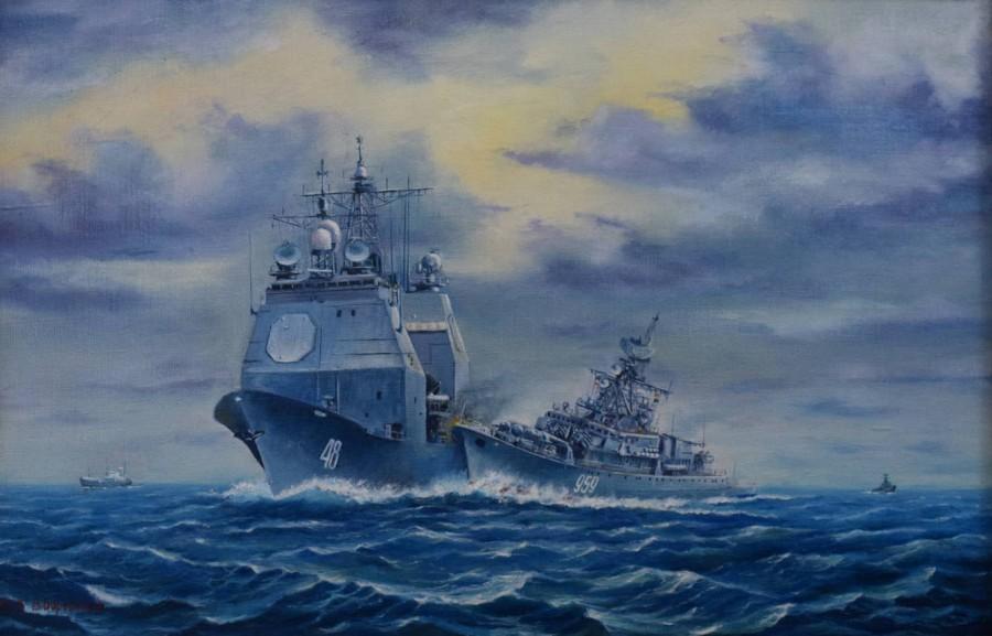 Навал в Черном море или истории кораблей участников