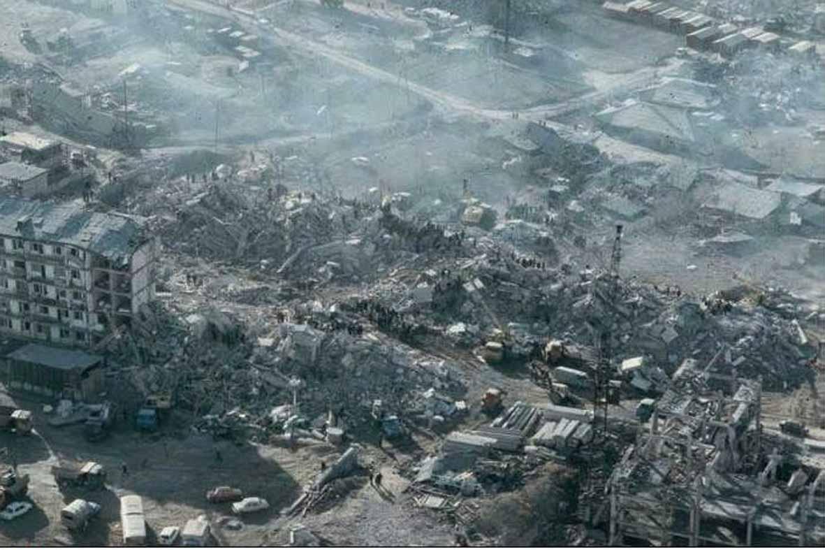 30 лет назад произошла Спитакская катастрофа