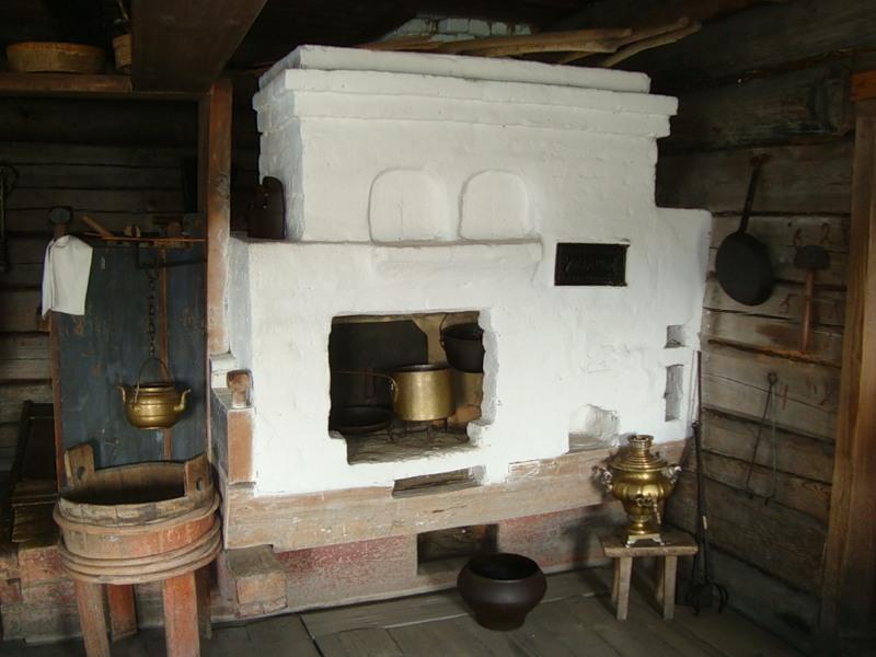 Как в старину делали теплый пол