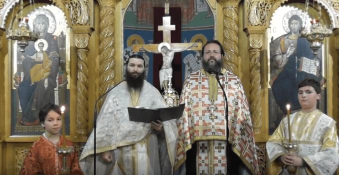 В пирейской митрополии прозвучали анафемы против экуменистов и критского собора
