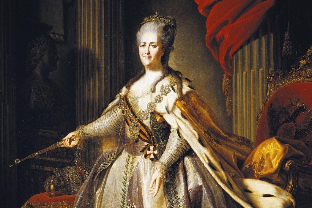 Екатерина II. Особые приметы
